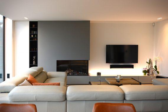 leefruimte met details in interieur