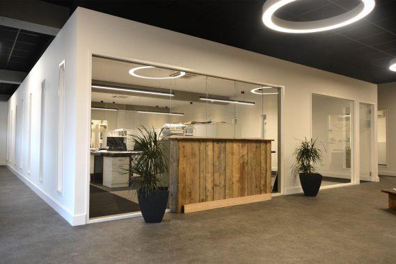 stijlvol modern uitzicht voor een kantoorruimte