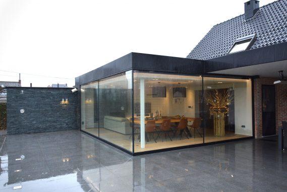 stijlvolle veranda voor een woning in geetbets