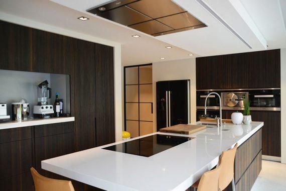 stijlvol keuken met details in interieur