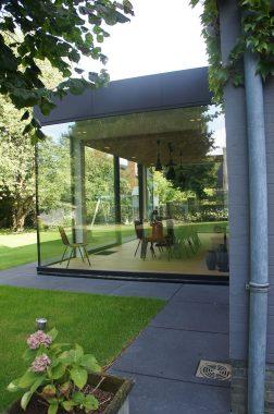 stijlvolle veranda in woning in wilsele